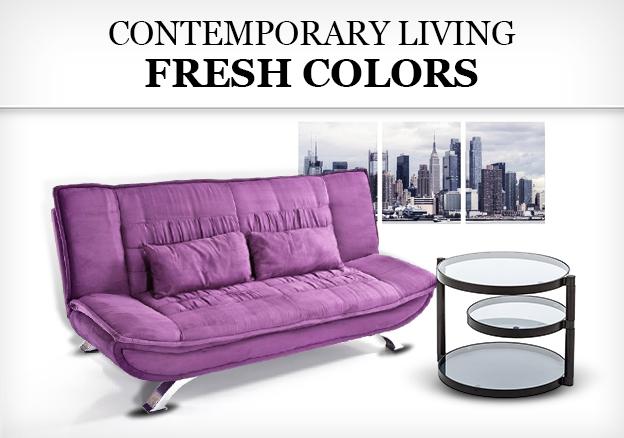Contemporary Living Fresh Colors!