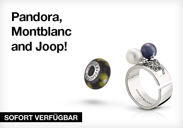 Pandora, Montblanc and Joop!