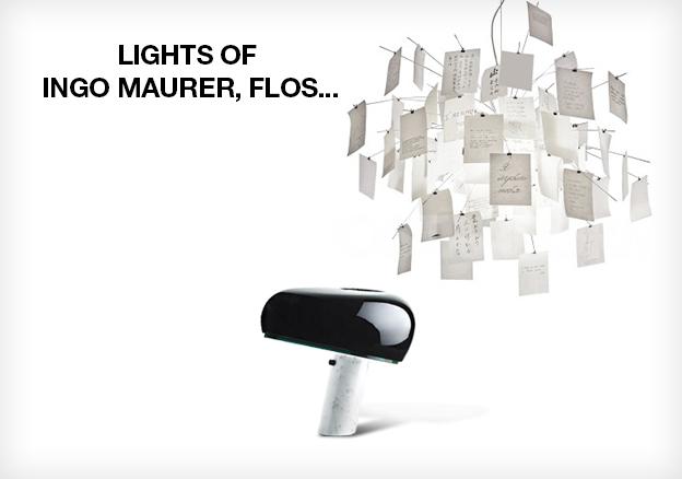 Lights of Ingo Maurer, Flos...