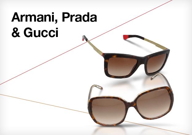 Armani, Prada & Gucci