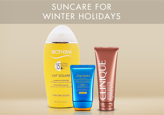 Suncare for Winter Holidays!