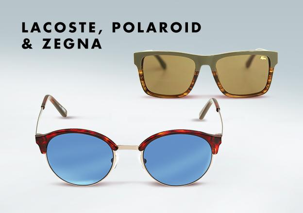Lacoste, Polaroid & Zegna!