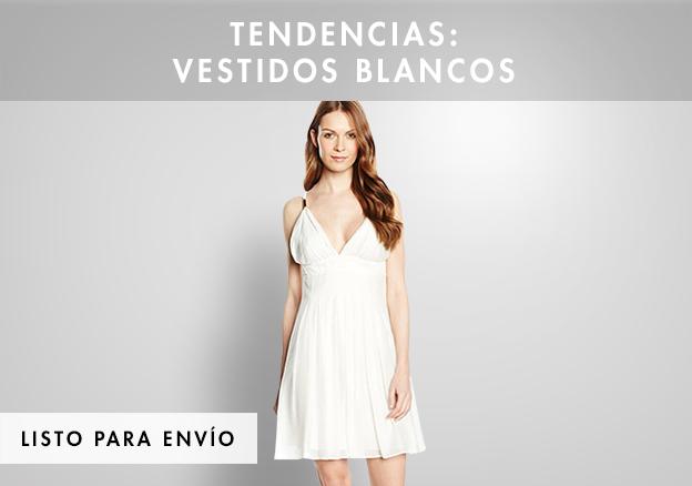 Tendencias: vestidos blancos