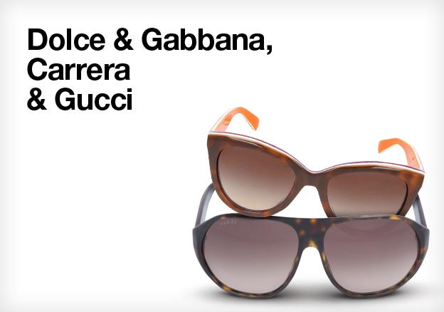 Dolce & Gabbana, Carrera & Gucci
