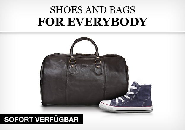 Shoes and bags for everybody
