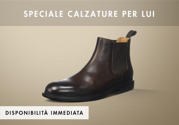 Speciale calzature per lui