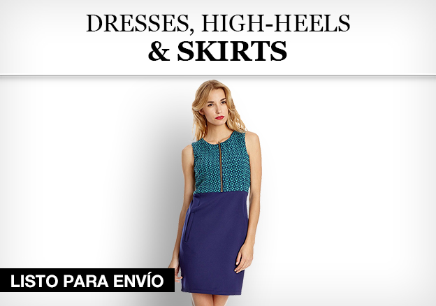Dresses, High-Heels & Skirts