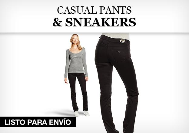 Casual Pants & Sneaker