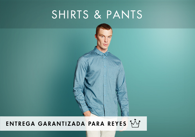 Shirts & Pants up to -72%