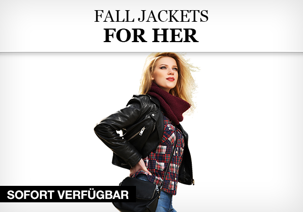 Fall Jackets for Her
