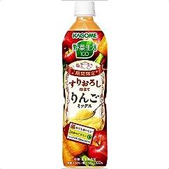 カゴメ 野菜生活100 すりおろし仕立てりんごミックススマートPET