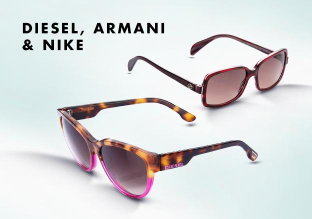 Diesel, Armani & Nike