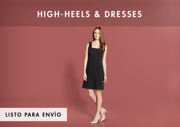 High-Heels & Dresses up to -74%