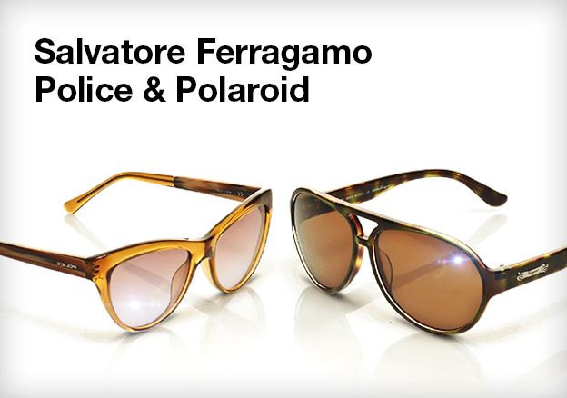 Salvatore Ferragamo, Police & Polaroid