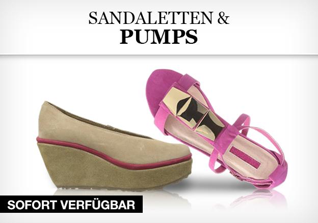 Sandaletten und Pumps