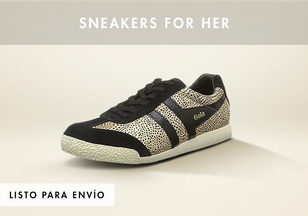 Zapatillas para ella!