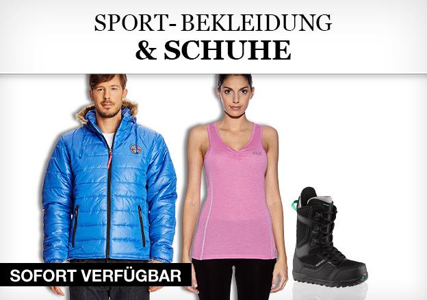 Sport-Bekleidung & Schuhe