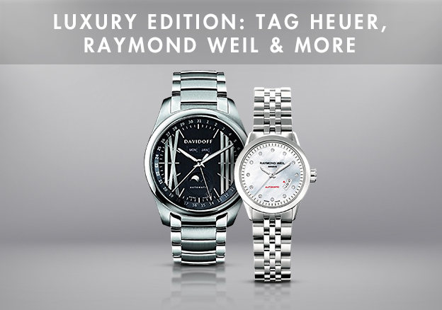 Luxury Edition: Tag Heuer, Raymond Weil & more
