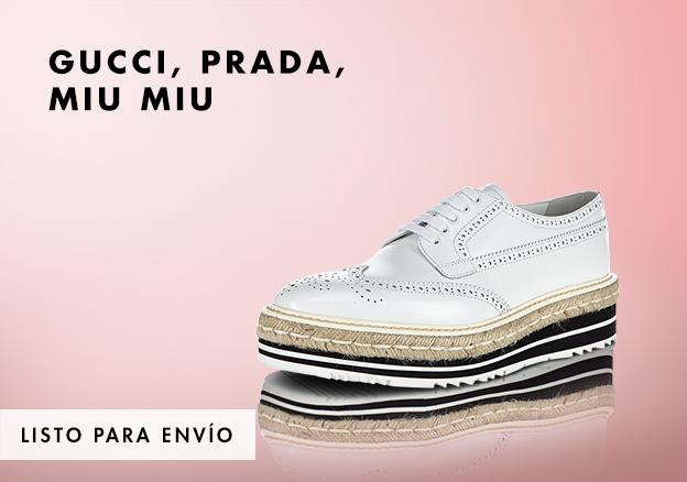 Gucci, Prada, Miu Miu