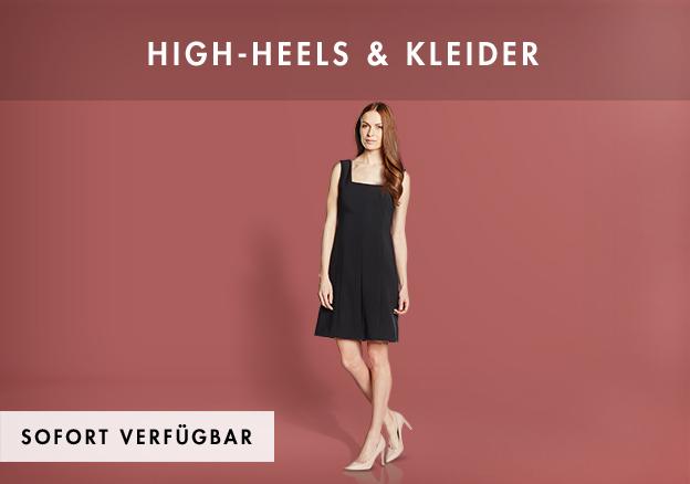 High-Heels & Kleider bis zu -73%