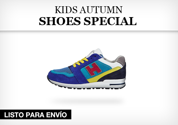 Kids autumn shoes special