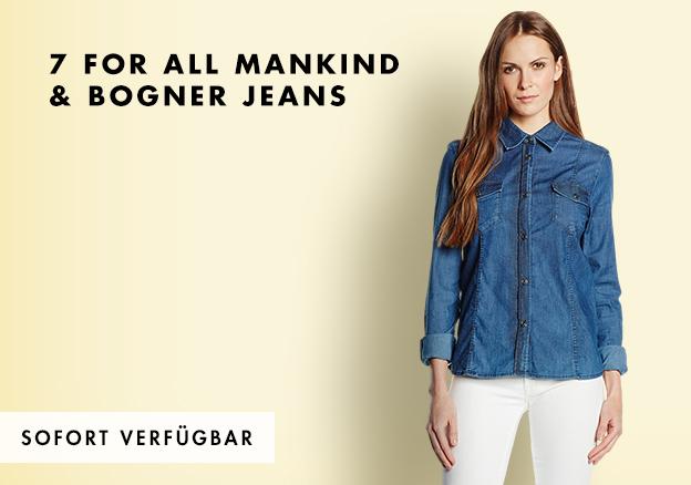 7 for All Mankind & Bogner Jeans