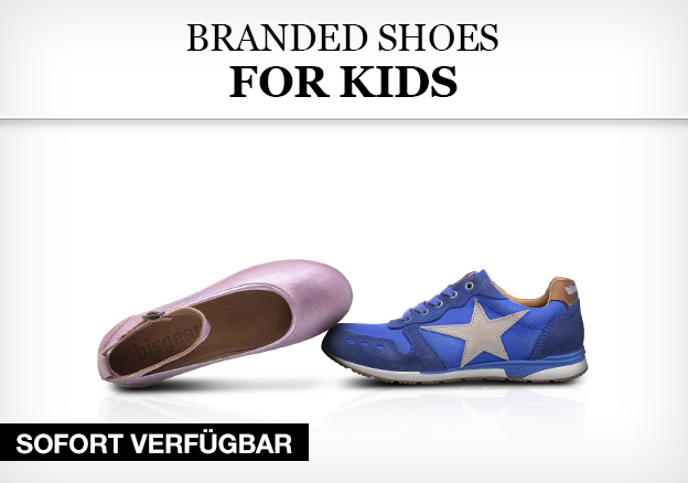 Branded shoes for kids
