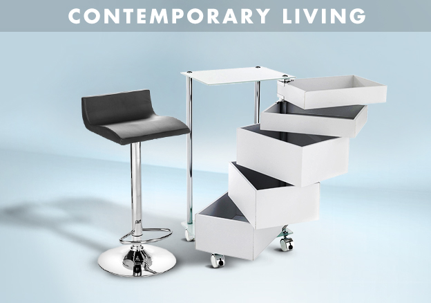Contemporary Living Black & White