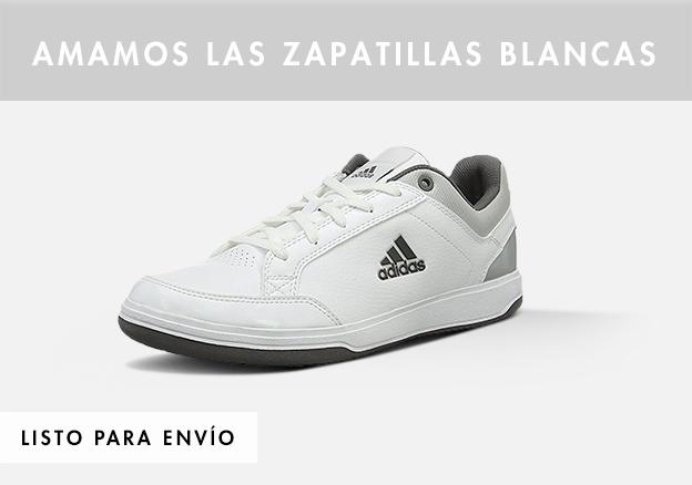 Amamos las zapatillas blancas