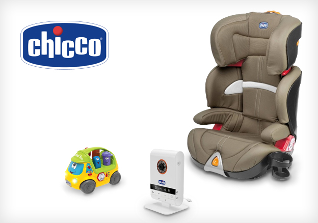 Chicco: wherever there's a baby
