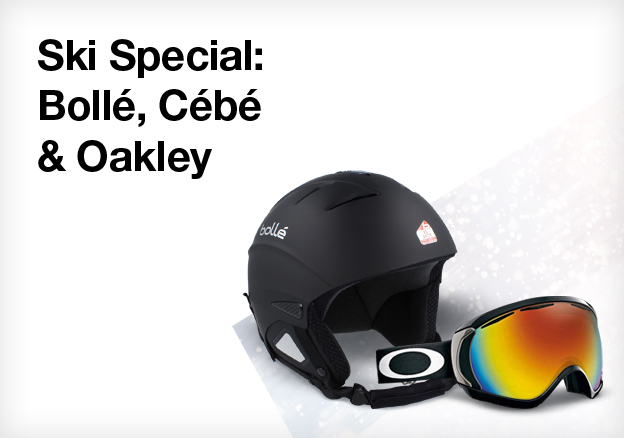 Ski Special: Bollé, Cébé & Oakley