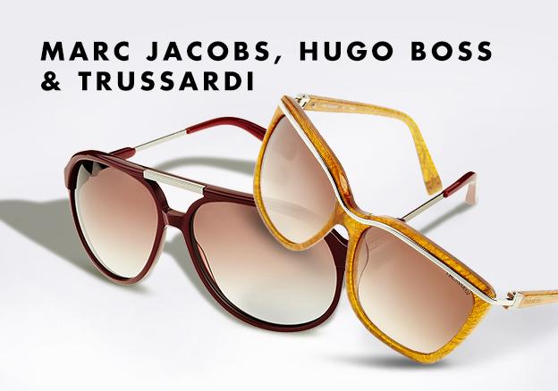 Marc Jacobs, Hugo Boss & Trussardi