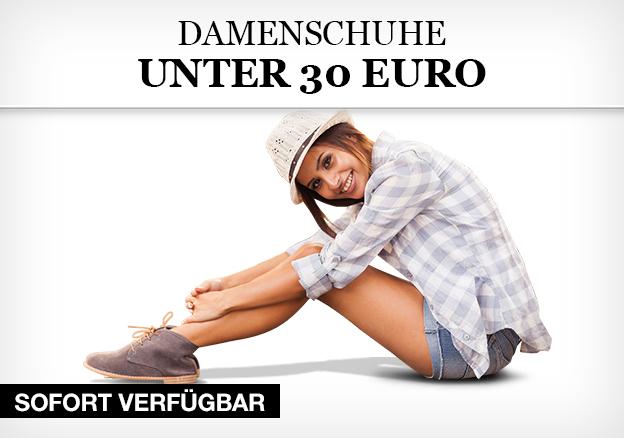 Damenschuhe unter 30 Euro