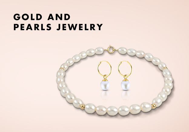 Gold and Pearls Jewelry!