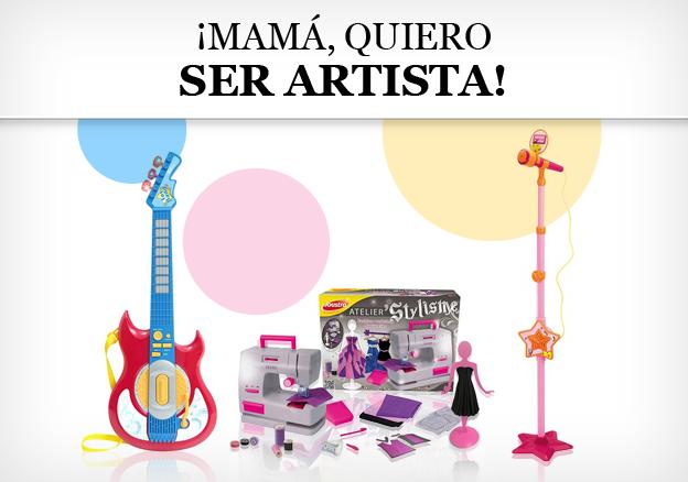 ¡Mamá, quiero ser artista!