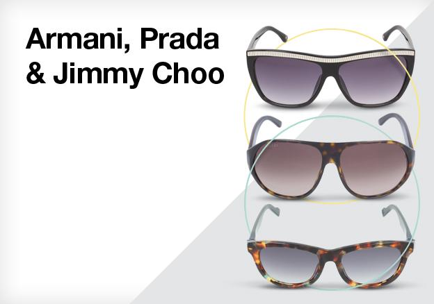 Armani, Prada & Jimmy Choo