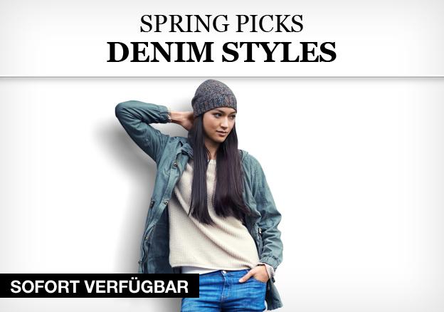 Spring Picks: Denim Styles
