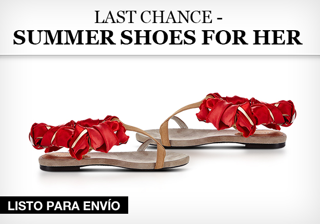 Last Chance – Summershoes for her