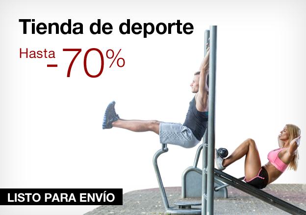 Tienda de deporte: hasta -70%