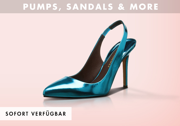 Pumps, Sandals & more