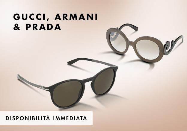 Gucci, Armani & Dior