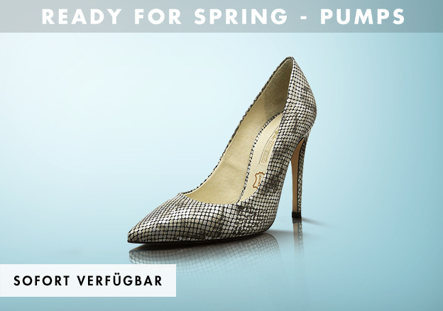 Ready for spring - Pumps