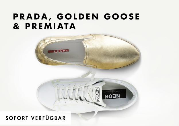 Prada, Golden Goose & Premiata