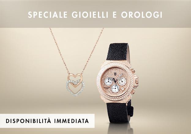 Speciale gioielli e orologi