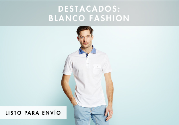 Destacados: Blanco Fashion