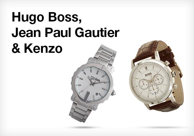 Hugo Boss, Jean Paul Gautier & Kenzo