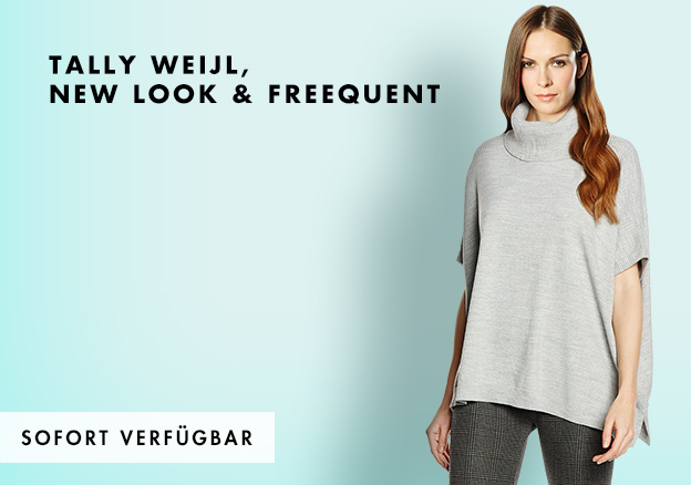 Tally Weijl, New Look & Freequent