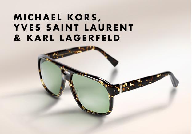 Michael Kors, Yves Saint Laurent & Karl Lagerfeld