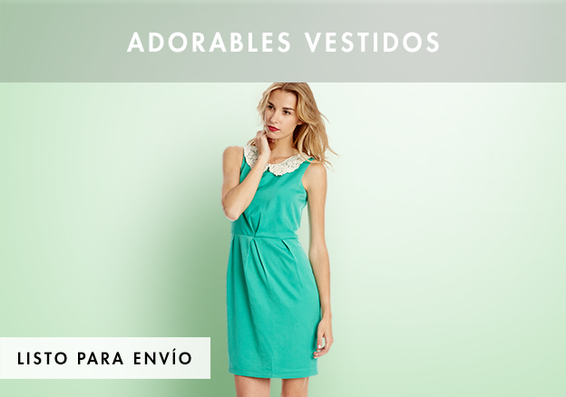 Adorables vestidos!