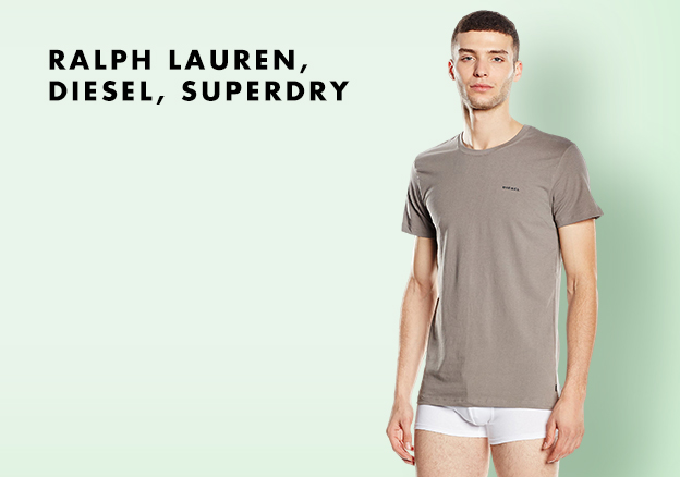 Ralph Lauren, Diesel, Superdry...